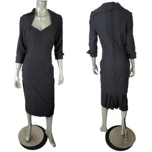 Pinup Couture Black Dress Large NWT